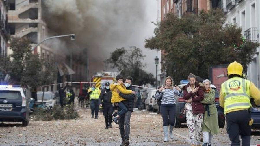 Nổ lớn xảy tại trung tâm thủ đô Madrid, Tây Ban Nha