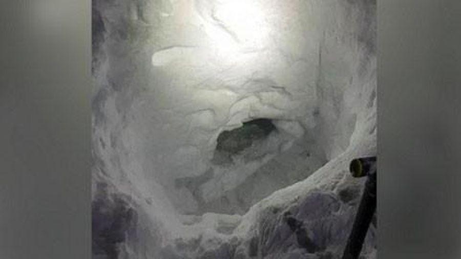 Thiếu niên 17 tuổi tự đào hang động tuyết để sinh tồn sau khi bị lạc