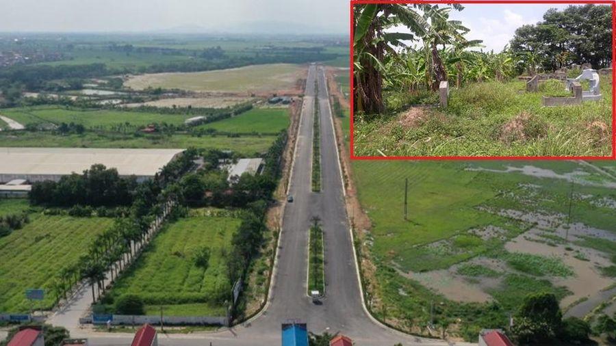 Bắc Ninh báo cáo vụ di dời mộ để làm KCN Yên Phong