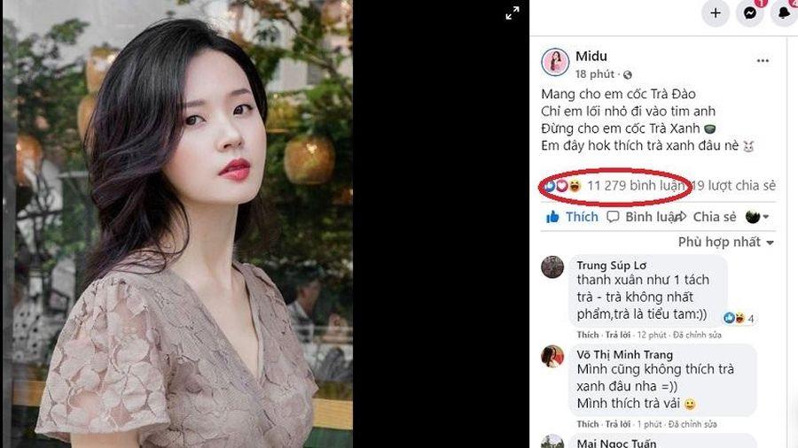 Midu bắt trend 'Trà xanh' khiến fan hâm mộ thả tim rần rần