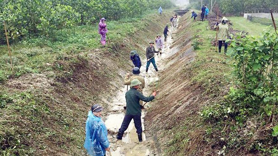 Hương Khê huy động hơn 52.000 ngày công khơi dòng, đón nước sản xuất vụ xuân