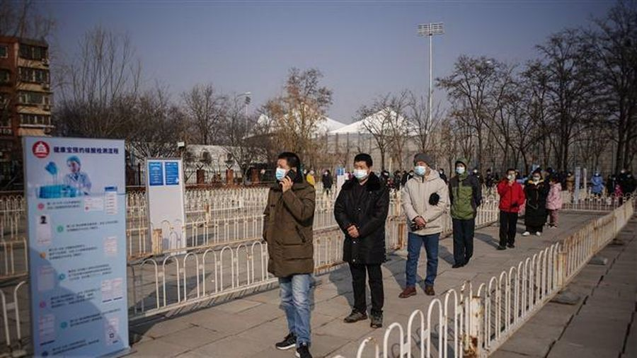 Trung Quốc có thêm 126 ca lây nhiễm COVID-19 trong cộng đồng