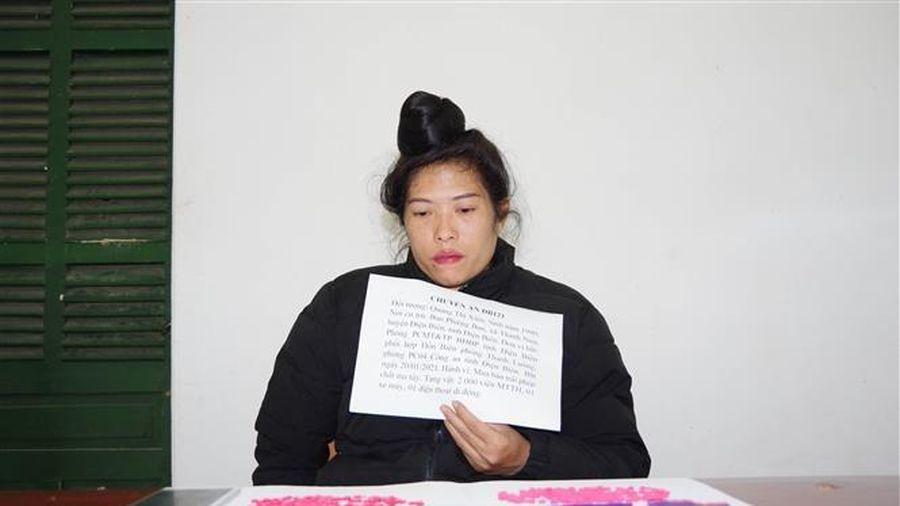 Điện Biên: Bắt đối tượng mua bán trái phép 2.000 viên ma túy tổng hợp