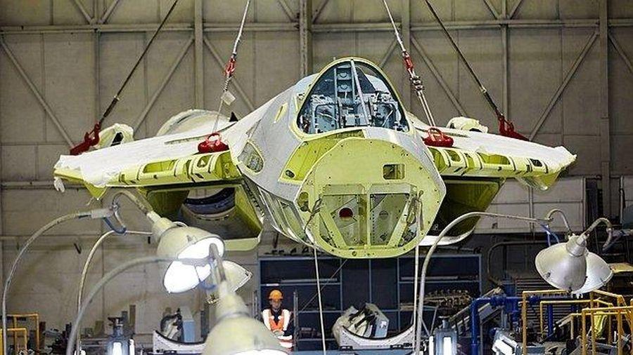 Chỉ có thể sản xuất quy mô lớn máy bay chiến đấu Su-57 vào năm 2024