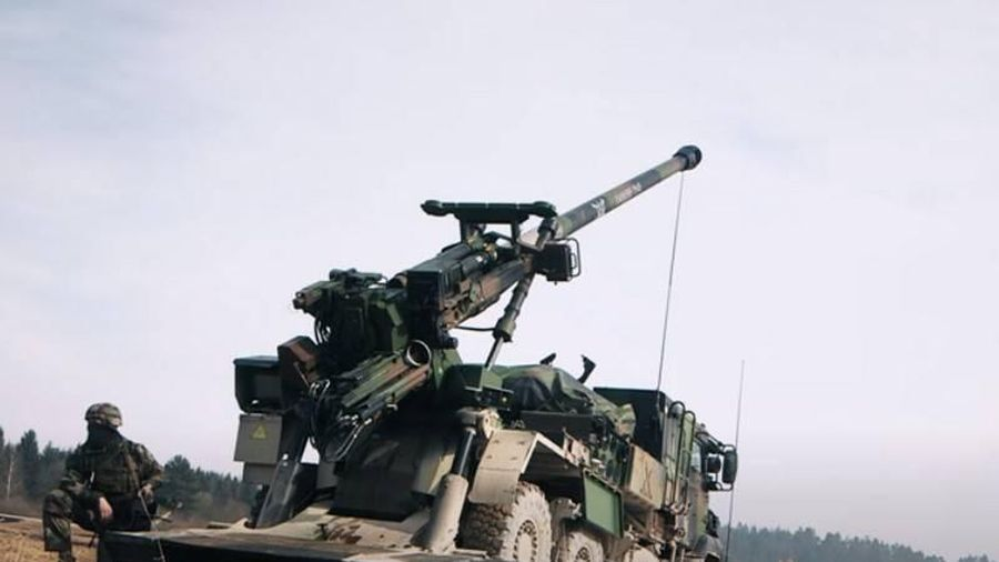 Pháp thử nghiệm đạn pháo dẫn đường KATANA