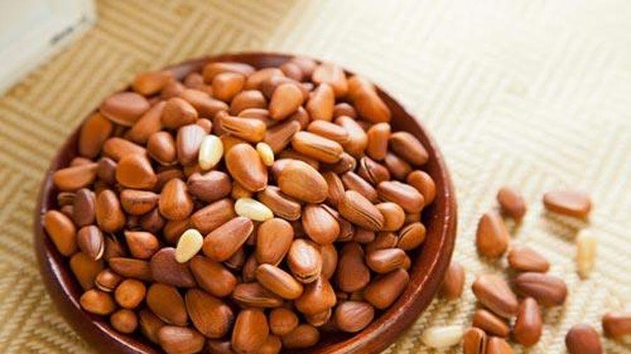 Hạt thông có tác dụng lớn đối với sức khỏe bạn nên ăn thường xuyên