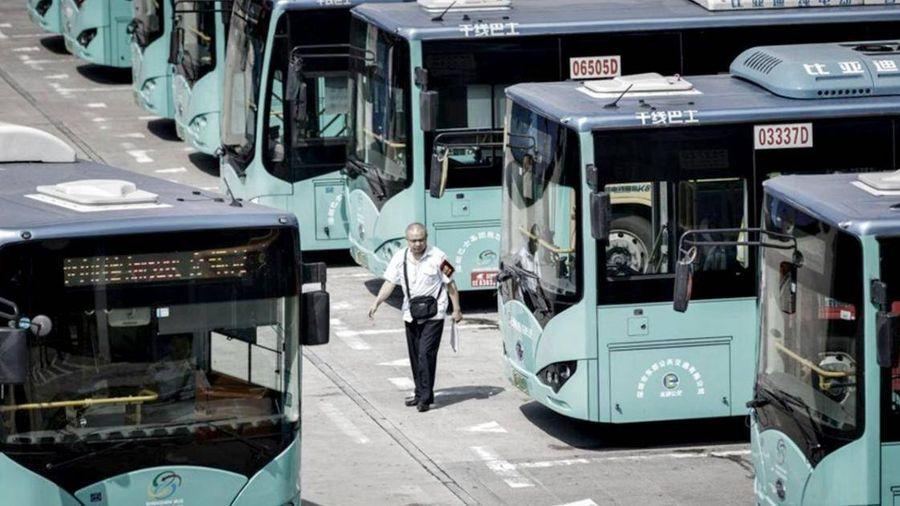 Trung Quốc chi nhiều tỷ USD phát triển xe buýt điện