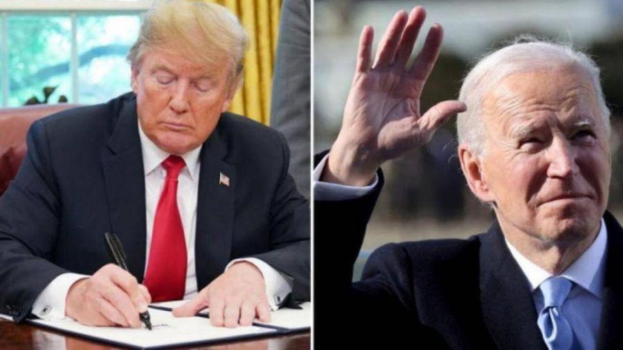 Nhận thư bí mật từ ông Trump tại Nhà Trắng, vì sao ông Biden không công bố?