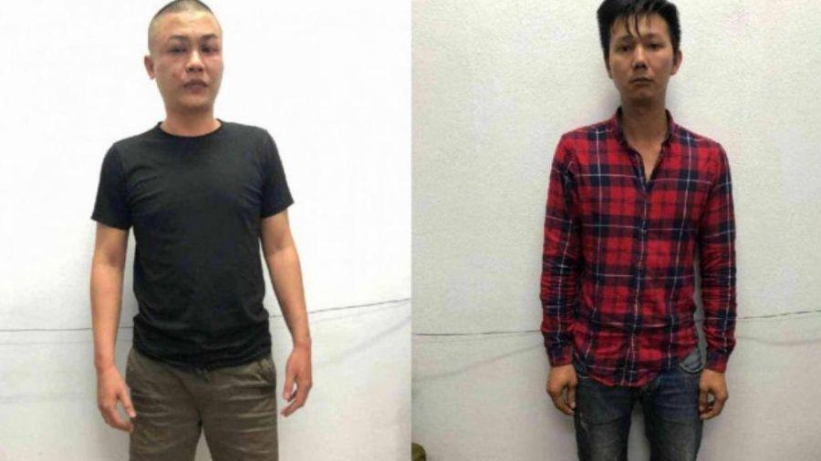 Hai thanh niên vi phạm giao thông, đâm xe vào Cảnh sát 911 Đà Nẵng
