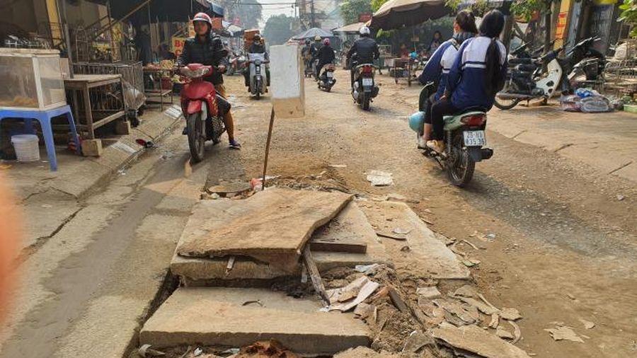 Hà Nội tạm dừng đào đường dịp Đại hội Đảng XIII và Tết Nguyên đán