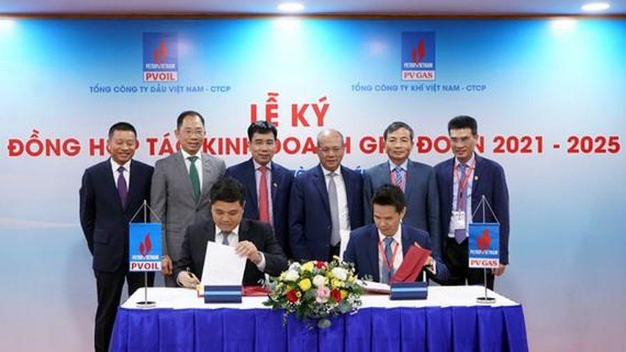 PV Gas và PV Oil hợp tác sản xuất xăng RON91 và dầu DO