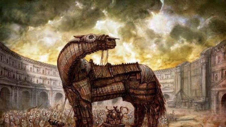 Bí ẩn con ngựa gỗ chứa đầy binh lính trong trận chiến thành Troy của Thần thoại Hy Lạp