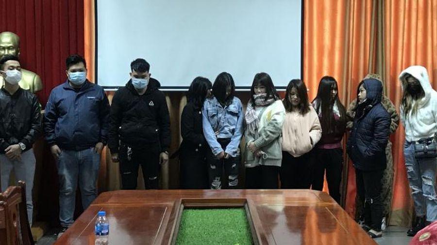 Bắc Giang: Triệt phá tụ điểm chứa mại dâm tại địa bàn khu công nghiệp huyện Việt Yên