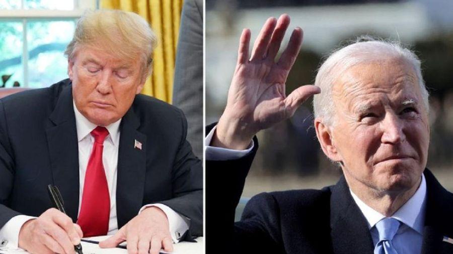 Có gì trong lá thư ông Trump để lại cho tổng thống kế nhiệm Joe Biden?