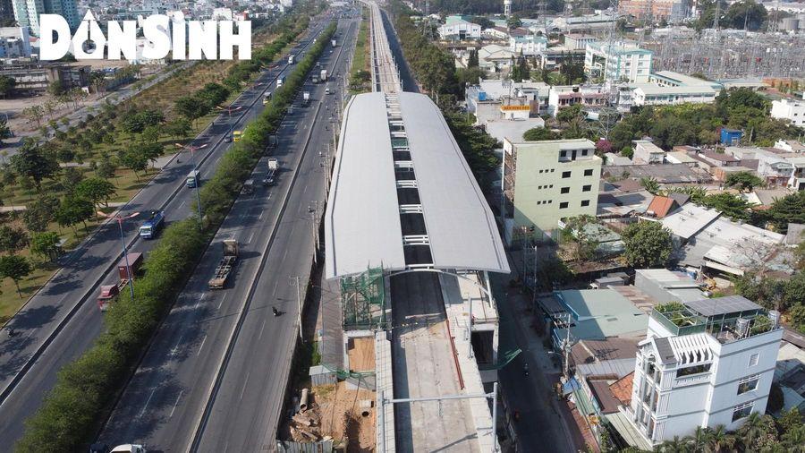 Tuyến metro Bến Thành - Suối Tiên đạt 82% khối lượng