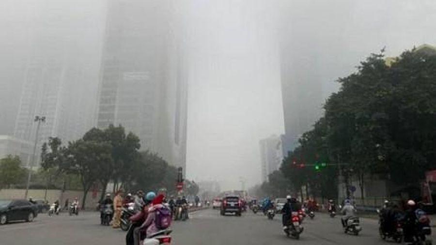 Thời tiết hôm nay 21/1/2021: Miền Bắc âm u sương mù kéo dài, trời bớt hanh khô