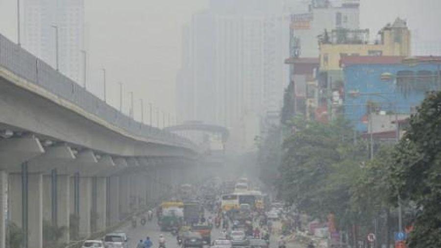 Hà Nội và TP.HCM mịt mù từ sáng tới trưa, chất lượng không khí rất xấu