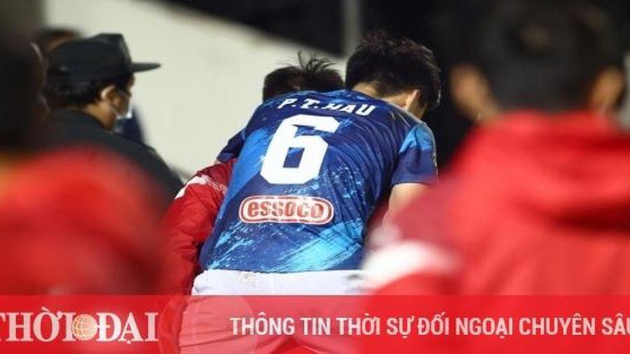Đốn Phan Thanh Hậu suýt gãy chân, cầu thủ SHB Đà Nẵng vẫn thoát án phạt