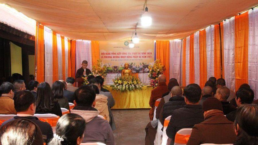 Hà Nội: Ban Trị sự GHPGVN quận Tây Hồ tổng kết công tác Phật sự