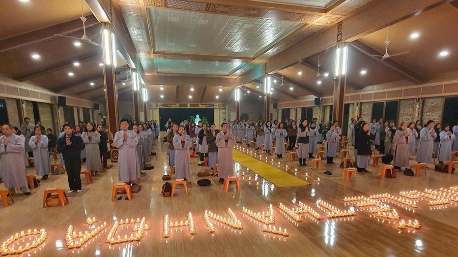 Nghệ An: Trang nghiêm lễ Phật thành đạo tại các chùa
