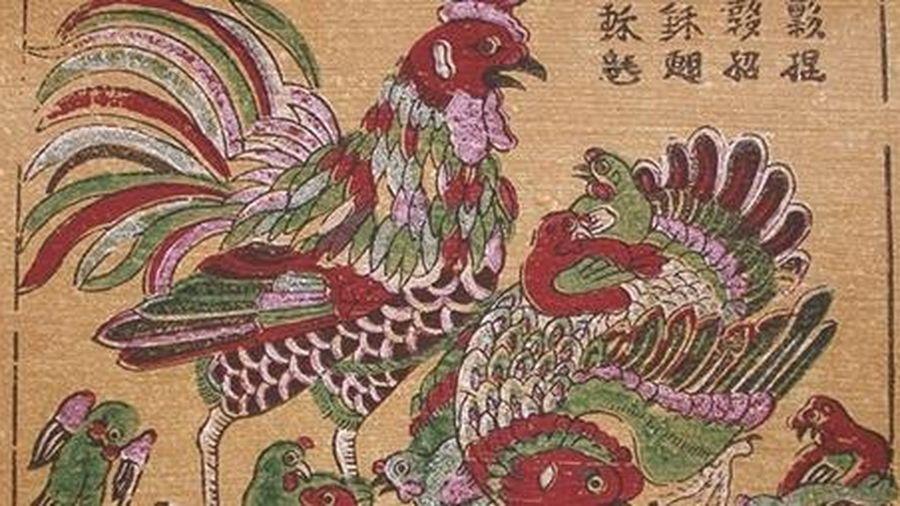 Khai mạc trưng bày tranh dân gian truyền thống Việt Nam