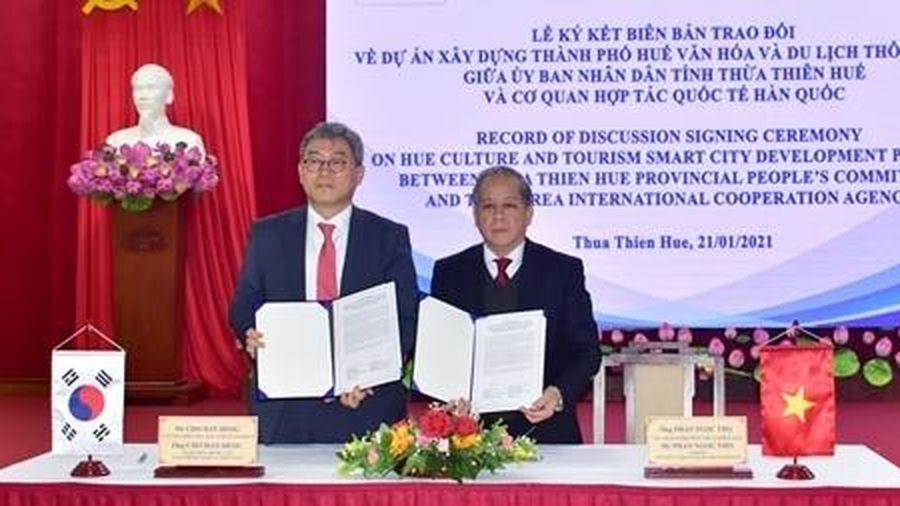 KOICA tài trợ 13 triệu USD xây dựng TP Huế văn hóa và du lịch thông minh