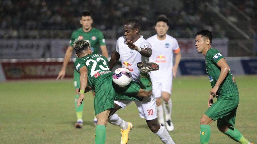 HAGL coi chừng 'sập bẫy' của SLNA ở vòng 2 V-League 2021