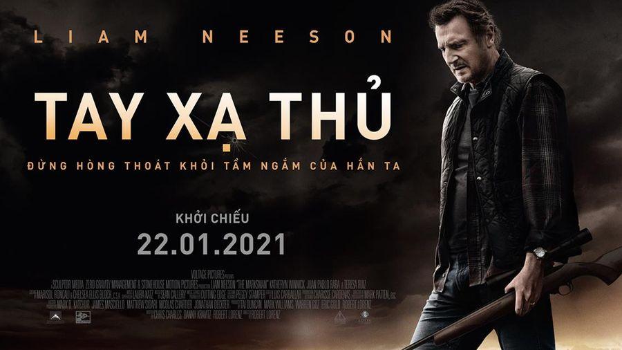 Siêu phẩm hành động của 'bố già' Liam Neeson vượt mặt 'Wonder Woman' giữ top 1 phòng vé Mỹ