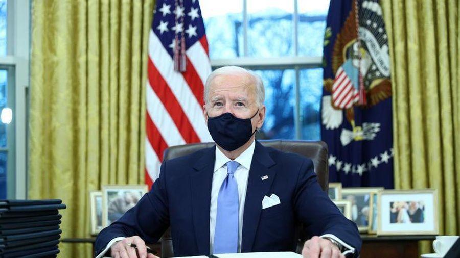 Ông Biden thực hiện hành động đầu tiên sau khi nắm quyền