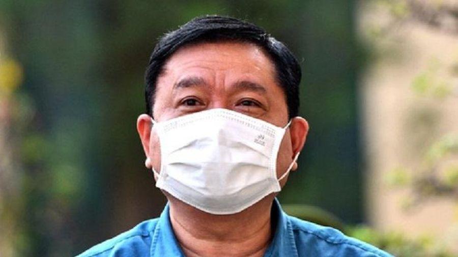 Ông Đinh La Thăng hầu tòa trong vụ án Ethanol Phú Thọ