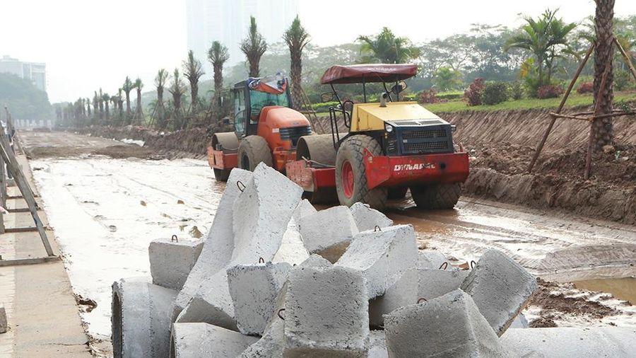 Dừng các hoạt động xây dựng khu vực xung quanh Trung tâm Hội nghị quốc gia