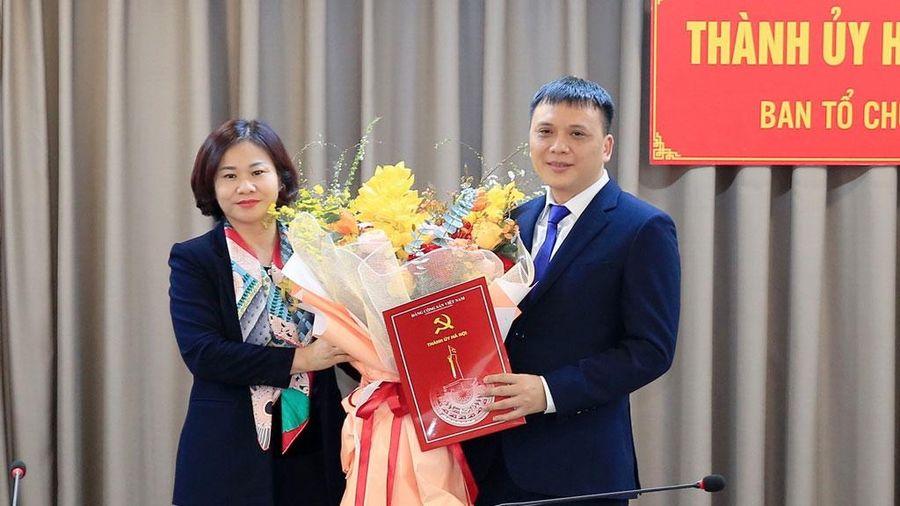 Đồng chí Nguyễn Minh Long được bổ nhiệm làm Phó Trưởng ban Tổ chức Thành ủy Hà Nội