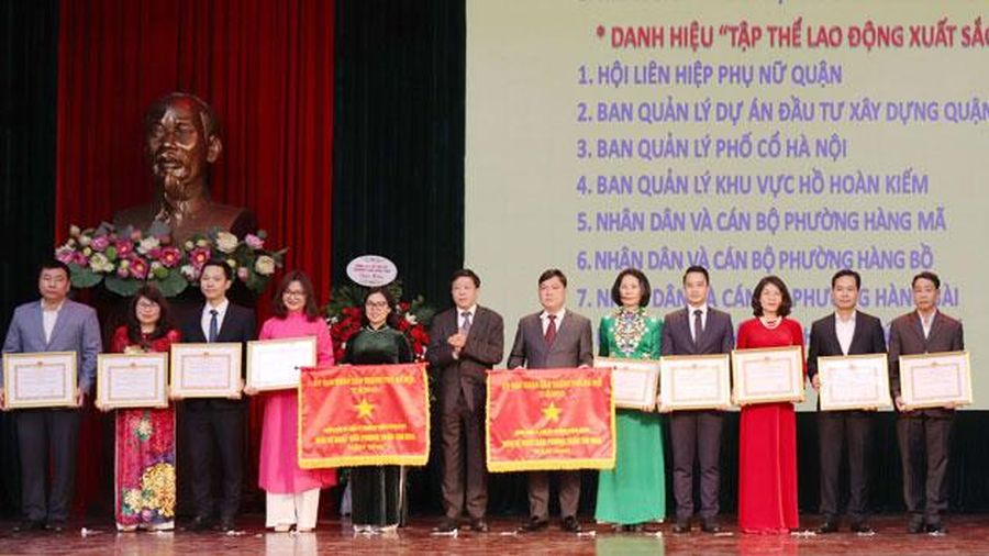Quận Hoàn Kiếm đi đầu trong xây dựng nếp sống thanh lịch, văn minh