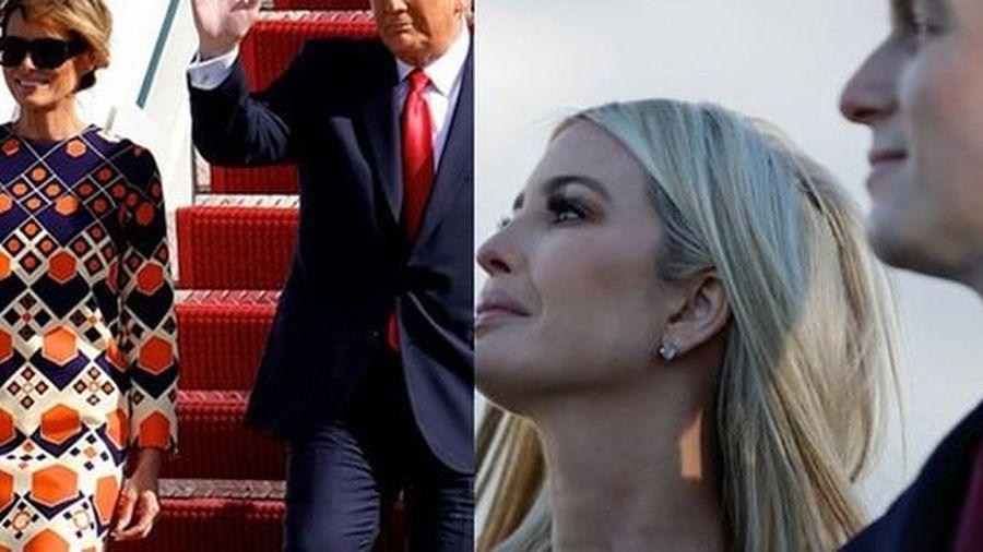 Tâm trạng trái ngược của vợ và con gái ông Donald Trump khi rời Nhà Trắng gây chú ý