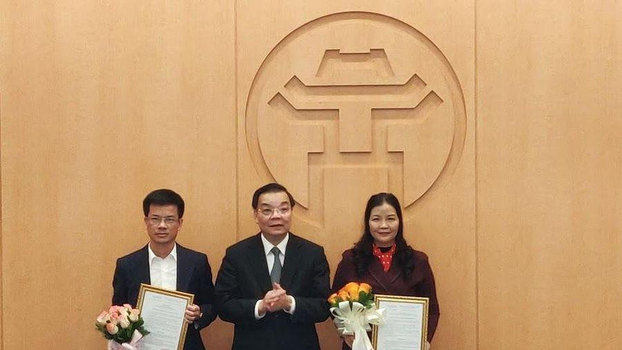 Ông Bùi Duy Cường được bổ nhiệm làm Giám đốc Sở TN-MT Hà Nội