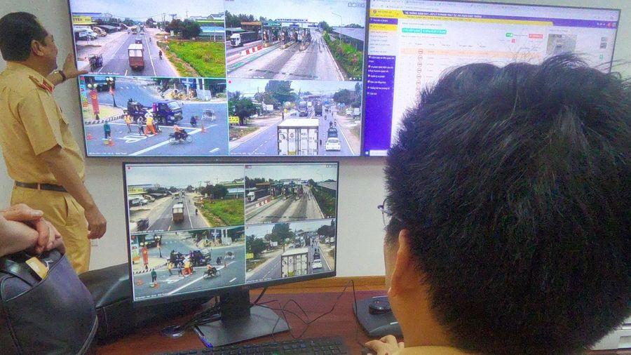 Bình Thuận sẽ giám sát giao thông qua 37 camera trên QL1