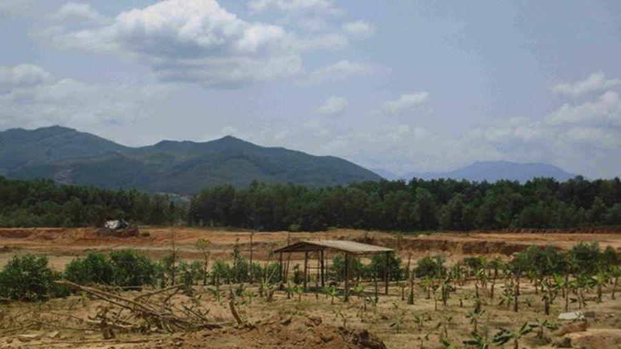 Bình Định: Khai thác đất sai vị trí, 1 công ty bị phạt nặng