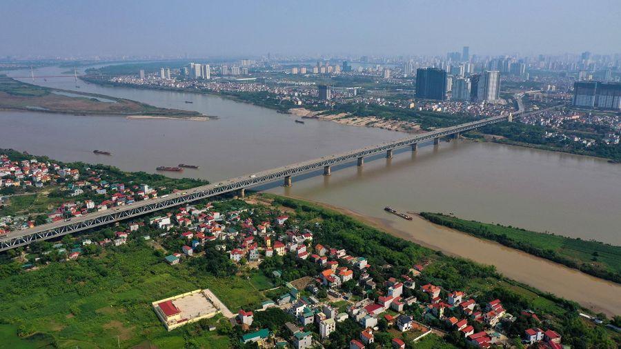 Hà Nội sẽ lập 4 phân khu quy hoạch hai bờ sông Hồng