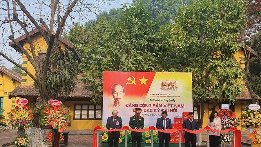 Triển lãm chuyên đề: Đảng Cộng sản Việt Nam qua các kỳ Đại hội