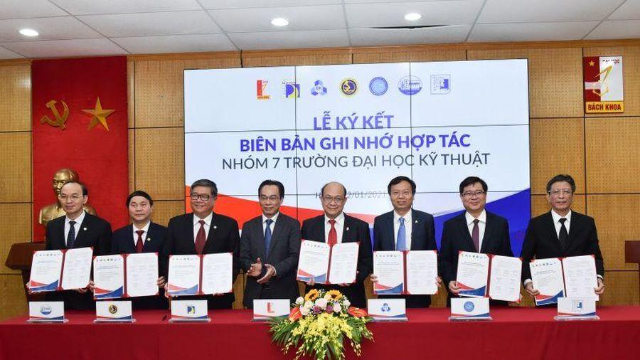 Bảy trường đại học kỹ thuật lớn ký hợp tác toàn diện