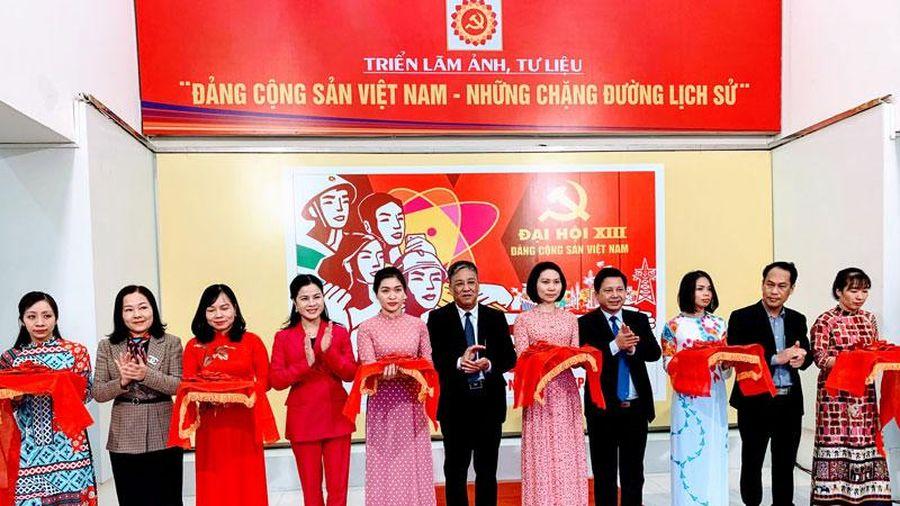 Triển lãm ảnh, tư liệu chào mừng Đại hội Đảng toàn quốc lần thứ XIII