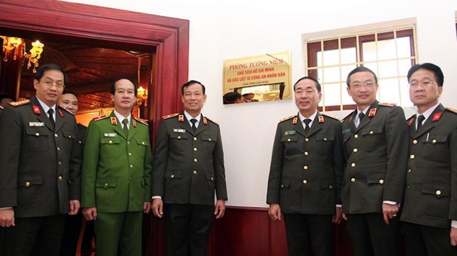 Khánh thành Phòng tưởng niệm Chủ tịch Hồ Chí Minh và các liệt sĩ CAND