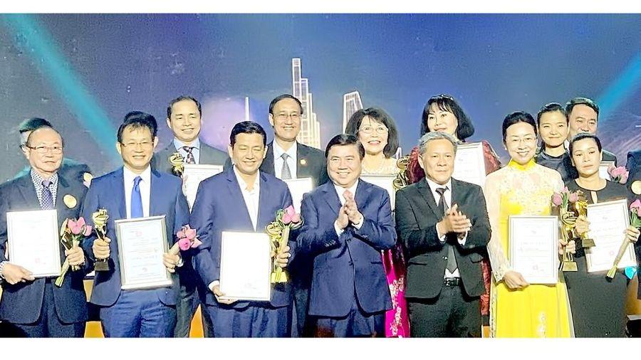 30 doanh nghiệp nhận giải thưởng Thương hiệu Vàng TPHCM năm 2020