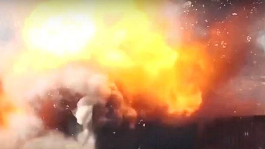 Iran tung video khoe sức mạnh của lực lượng máy bay không người lái hùng hậu
