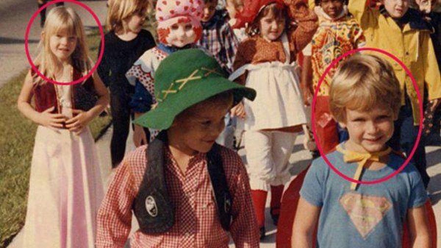 Nhìn bức ảnh hồi mẫu giáo, anh chồng bất ngờ về người đứng sau mình chỉ 2 bước chân