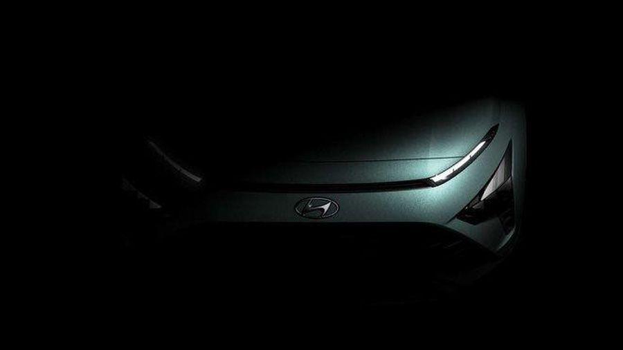 Tân binh Hyundai Bayon lộ diện