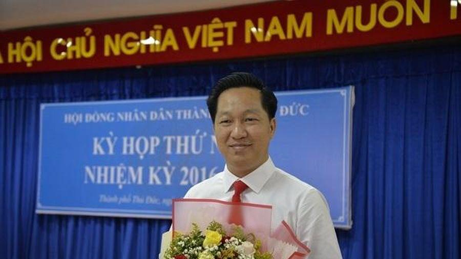 Chủ tịch huyện Nhà Bè được bầu làm Chủ tịch TP Thủ Đức