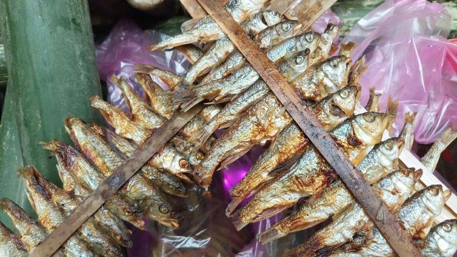 Đến vùng 'rốn vàng' ở Nghệ An mua chuột rừng khô, cá mát nướng...về ăn Tết