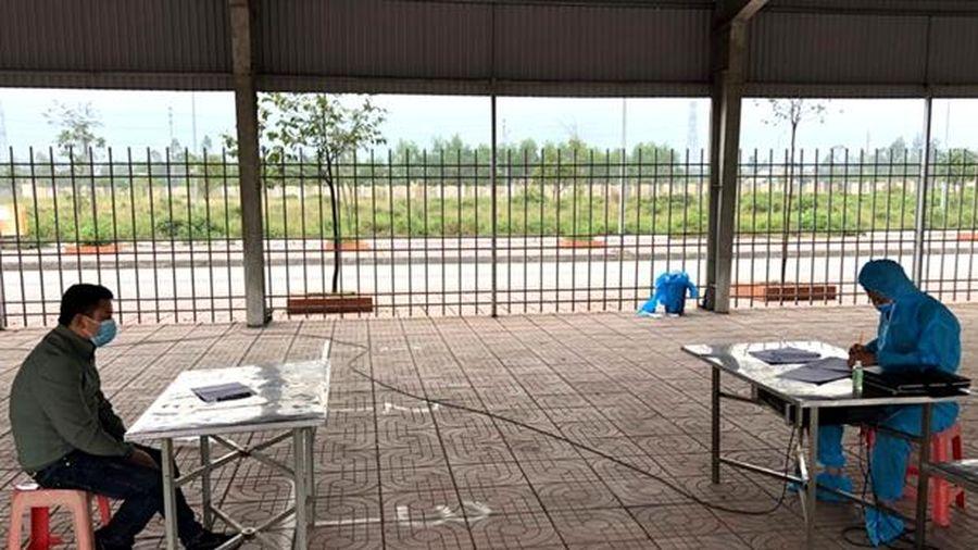 Công an Can Lộc xử phạt 1 công dân trốn tránh cách ly y tế
