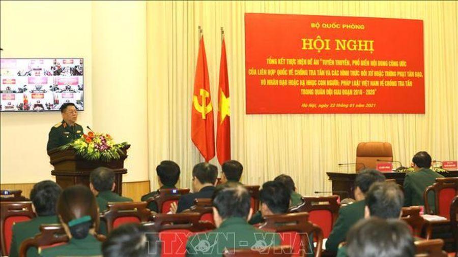 Tổng kết thực hiện Công ước của LHQ và pháp luật Việt Nam về chống tra tấn